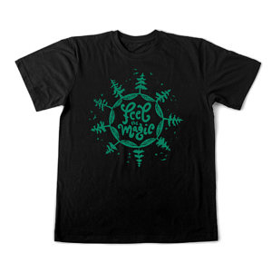 czarna-magia-koszulka-meska-feel-magic-drzewa-las