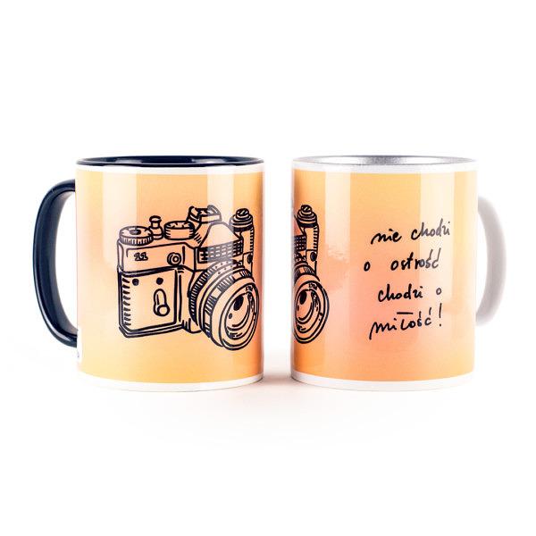 Kubek ceramiczny dla miłośników fotografii