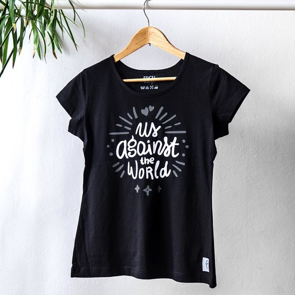 Damski T-shirt z napisem na Walentynki