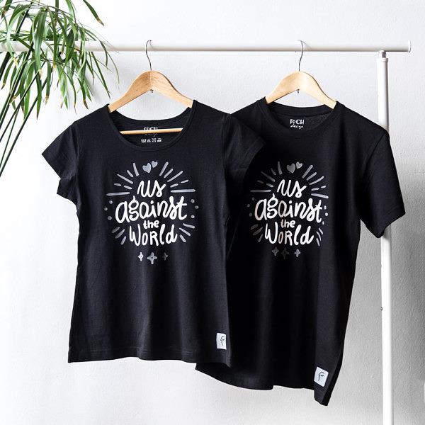 Nietypowy zestaw koszulek na rocznicę dla zakochanych