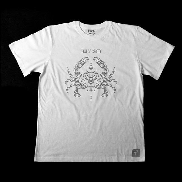 koszulka z symetrycznym wzorem, do ćwiczeń jogi i medytacji