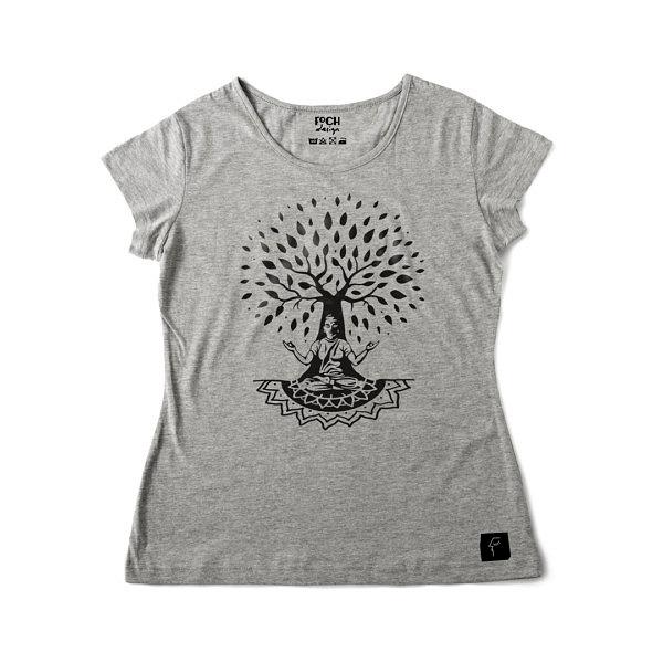 Koszulka z drzewem życia i Buddą