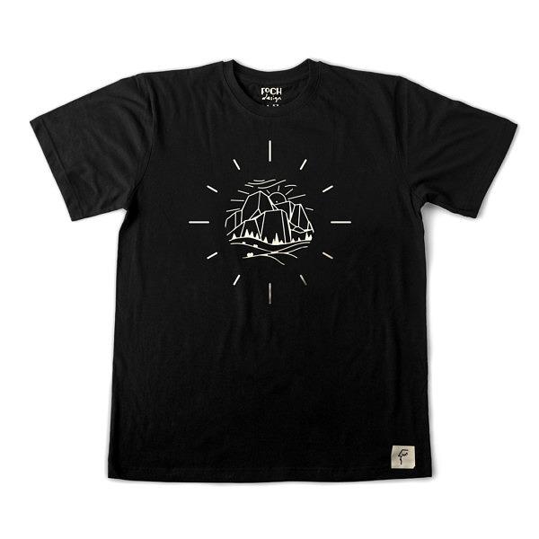 Koszulka z nadrukiem - góry
