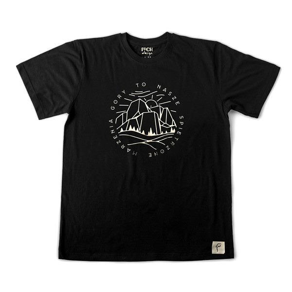 Koszulka dla miłośnika gór